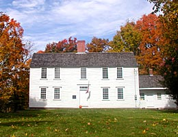 The Huntington Homestead is open to visitors May through October.